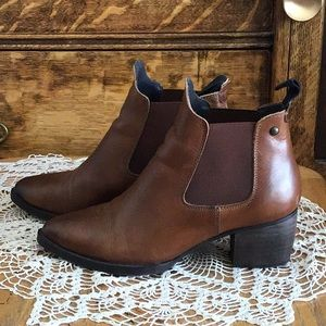 TopShop brown ankle boots
